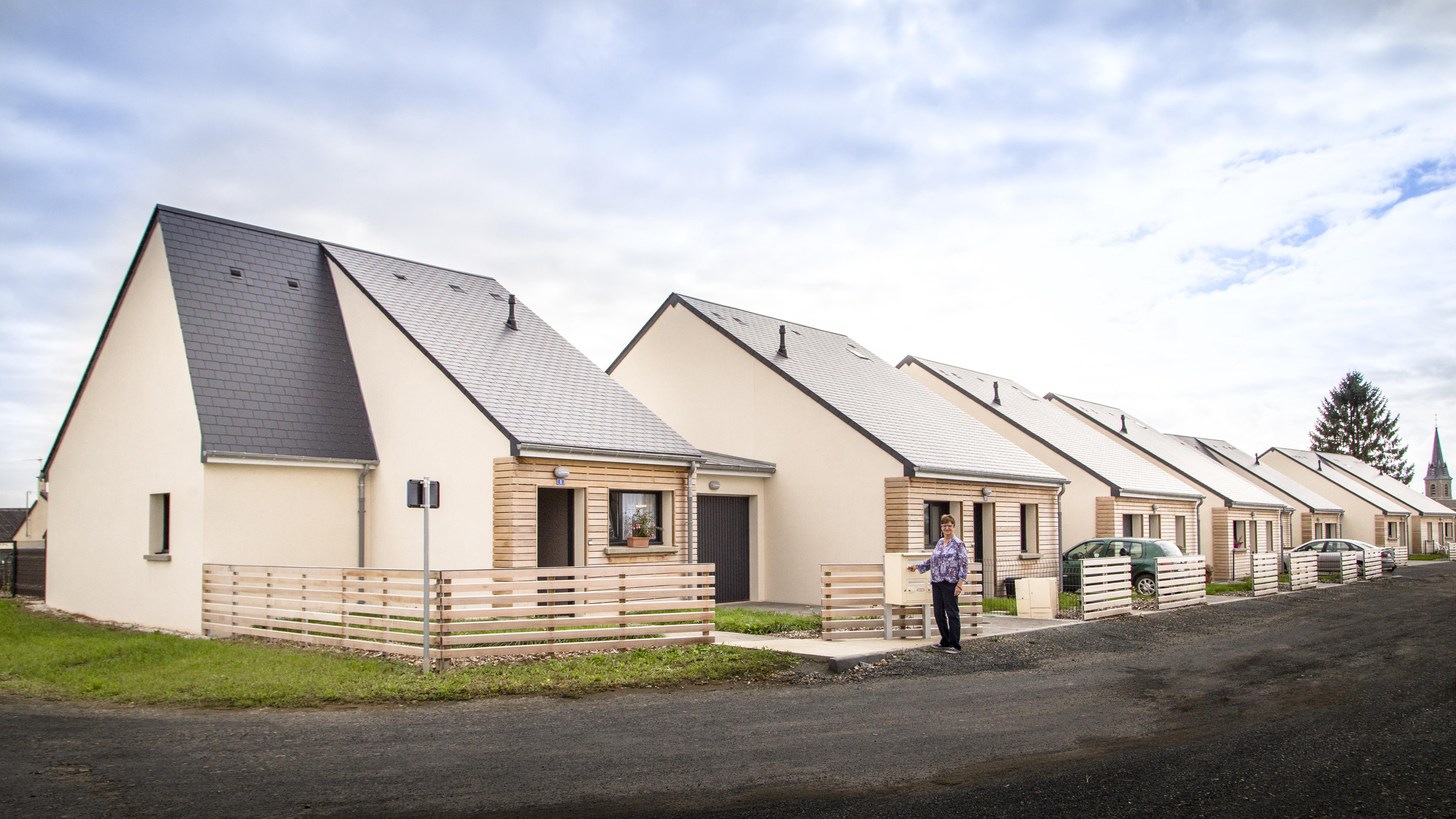 Le Lotissement De La Plaine Des Boulaies Logements Sarthe Habitat En Photos Souge Le Ganelon