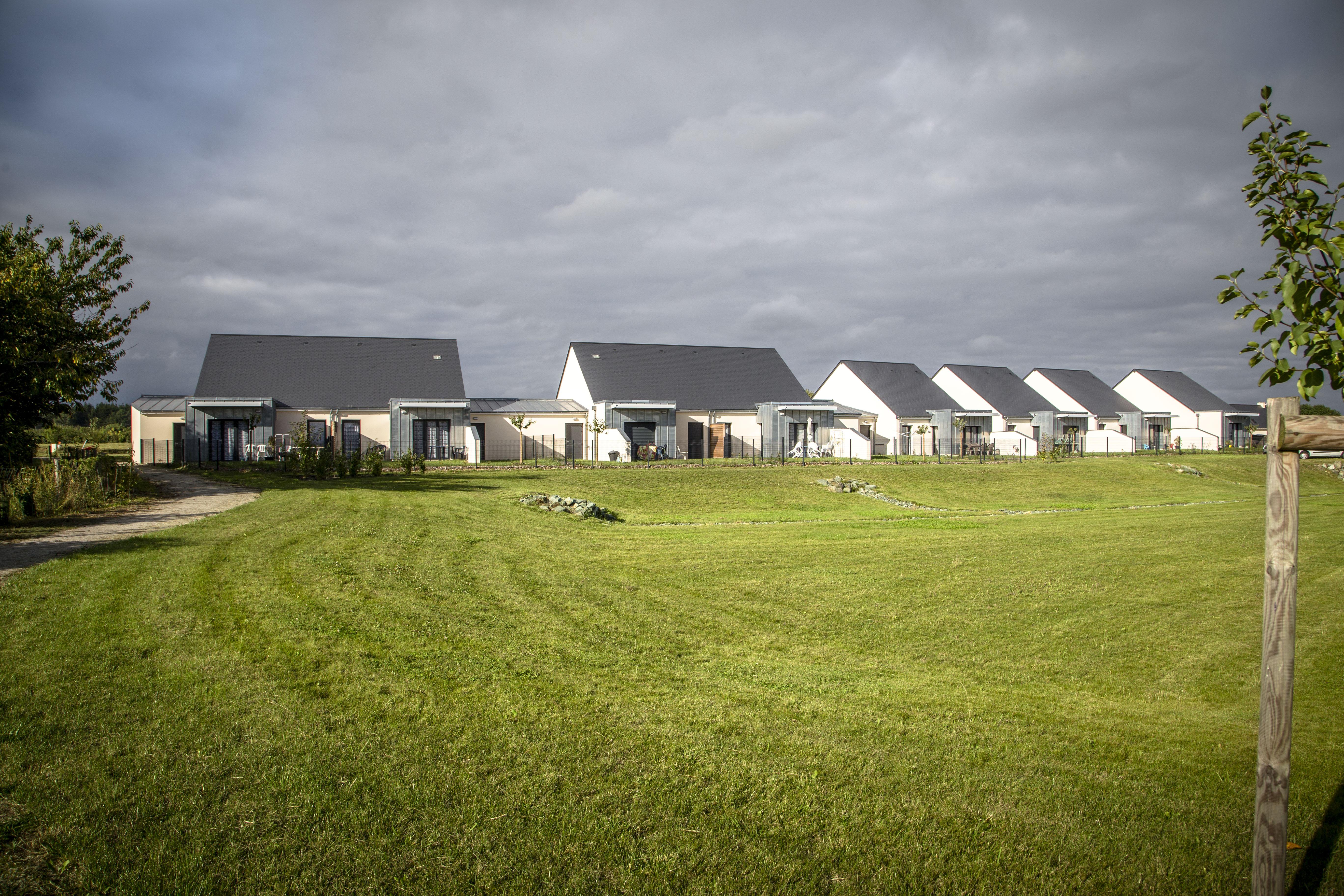 Le lotissement de la Plaine des Boulaies : logements Sarthe Habitat, en photos