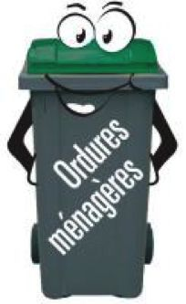 Collecte des ordures ménagères maintenue