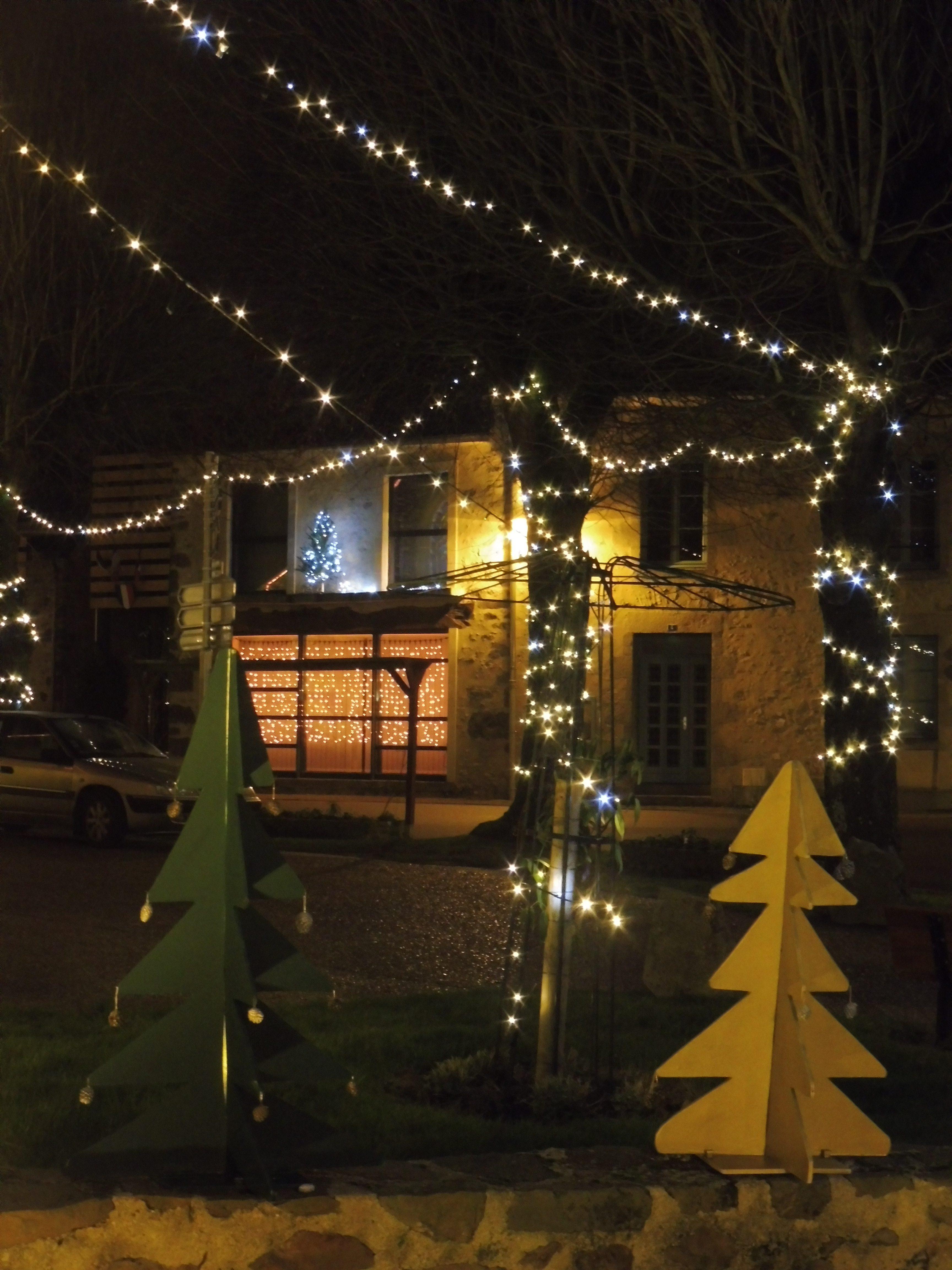 Lumières de Noël à Sougé