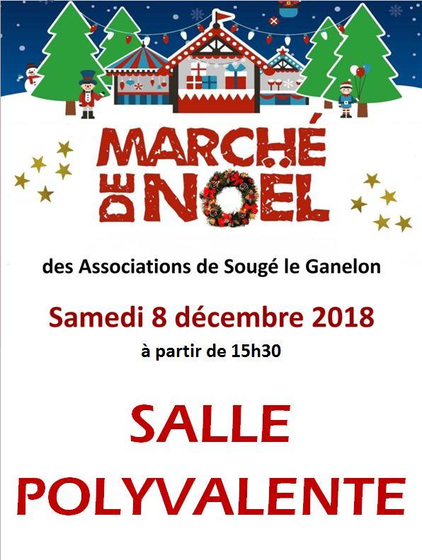 Marché de Noël de Sougé (8.12.2018) : changement de lieu