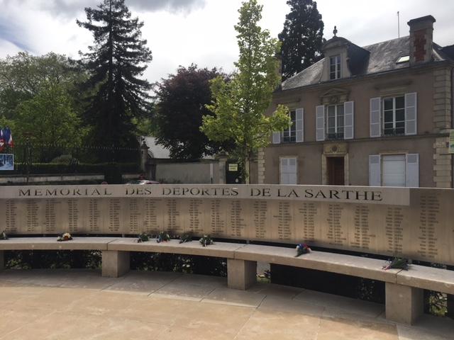 Inauguration du Mémorial des Déportés de la Sarthe (Le Mans) : n'oublions jamais …