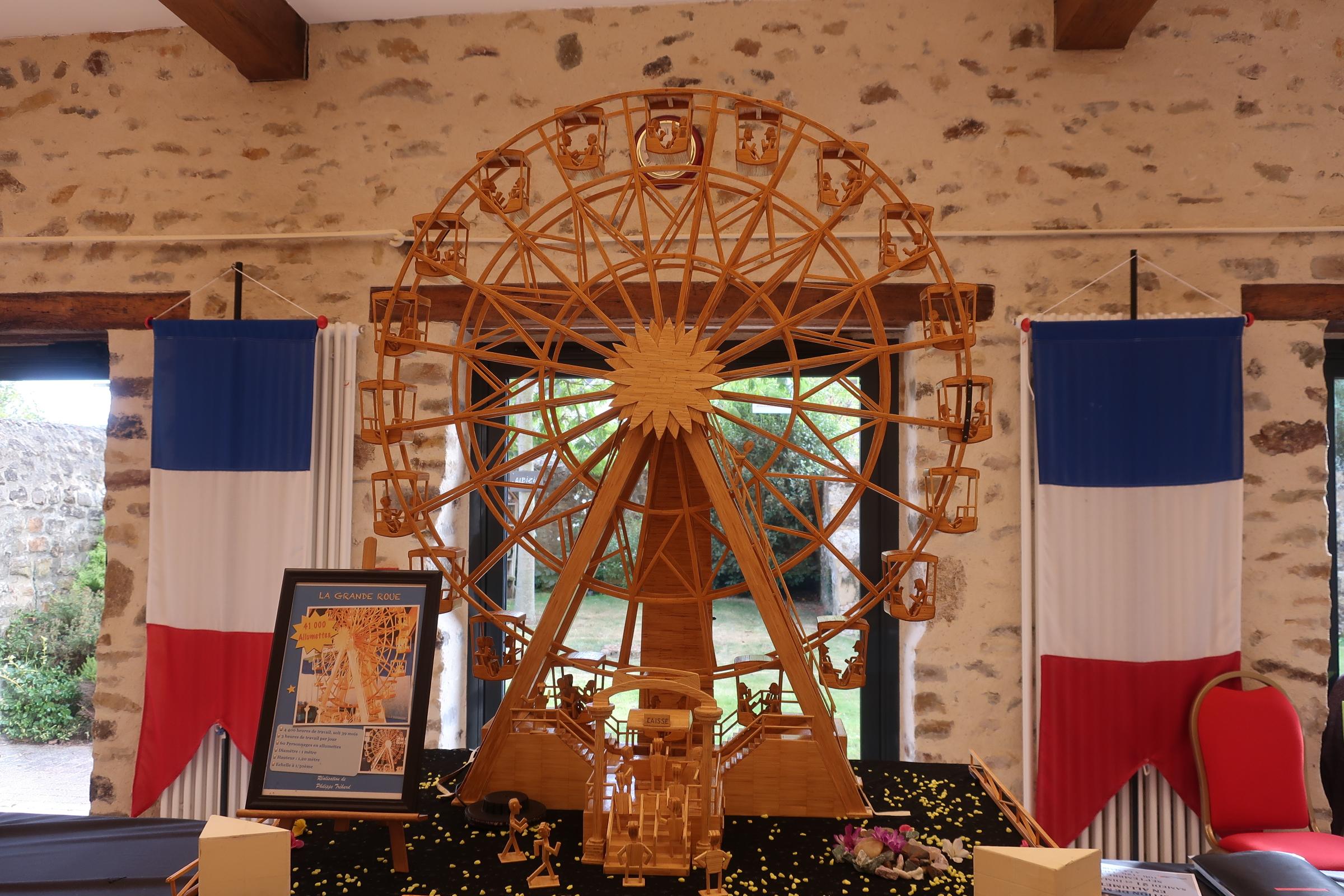Une magnifique exposition de maquettes pour les journées du patrimoine à Sougé …