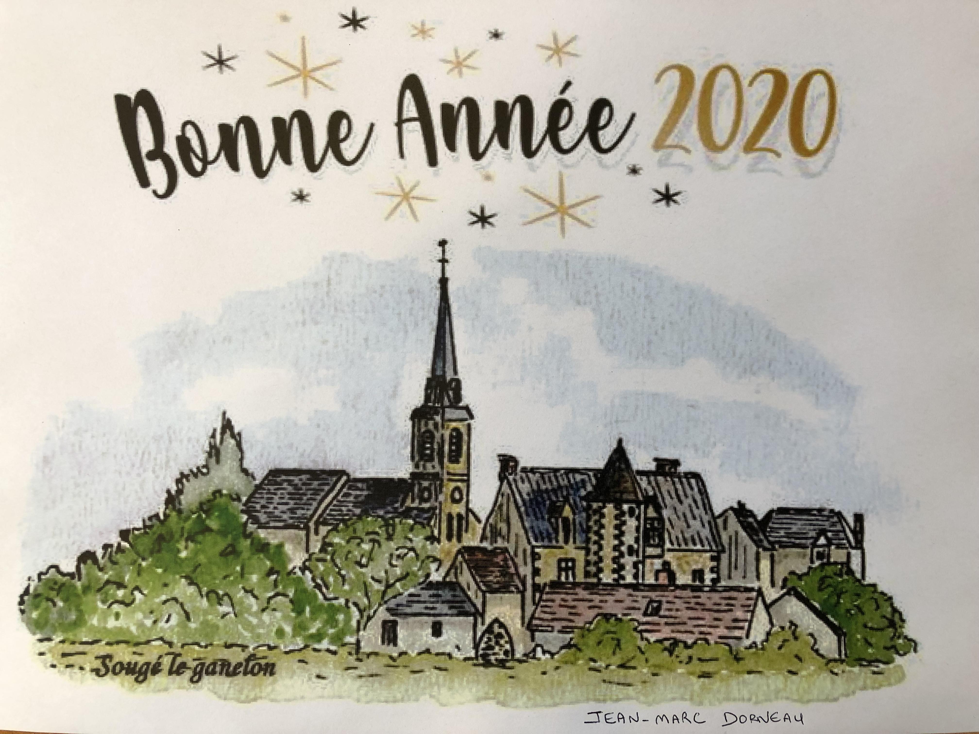 Bon Noël et bonne année 2020
