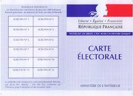 Inscription sur la liste électorale : rappel