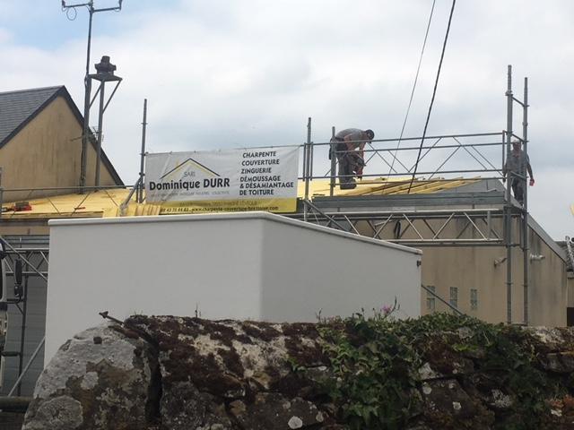 Remplacement de la toiture du centre de secours